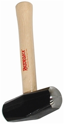 COR3 3lb Drilling Hammer With Wood Handle