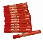 DXR520 Dixon Red Lumber Crayons Sold in Boxes of 12 Only