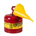 EAUI20S 2 Gallon Safety Gas Can W/Funnel