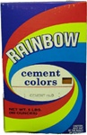 EN1000-5 Rainbow Terra Cotta Cement Color-5 Lb. Sold in Boxes of 6 Only