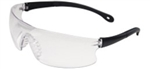 ERB15529 Invasion Black Clear Safety Glasses