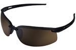ERB15591 Black Frame/Brown Lens Safety Glasses
