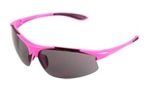 ERB18040 Gray Lens/Pink Frame Safety Glasses