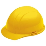 ERB19362 Yellow Ratchet Hard Hat/Osha Approved