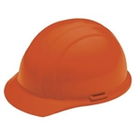 ERB19363 Orange Ratchet Hard Hat/Osha Approved