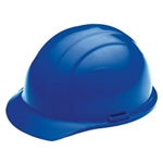 ERB19366 Blue Ratchet Hard Hat/Osha Approved