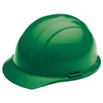 ERB19368 Green Ratchet Hard Hat/Osha Approved