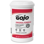 GJ1115 Gojo Original Hand Cleaner 4.5lb Sold 6 Per Case. No Broken Boxes