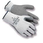 GV301M Atlas Therma Fit Insulated Gray Dipped Palm Glove - Medium - Sold In Dozens Only
