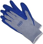 GV35004 Atlas Style Wonder Glove Blue Dipped Rubber Palm - Large - Sold In Dozens Only