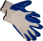 GVWGM Pr Non-Slip Blue Rubber  Palm Wonder Glove - Medium - Sold in Packs of 10 Only