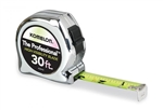 KO430HV 30' CHROME HI-VIZ TAPE MEASURE