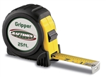 KO5425   25' BLACK GRIPPER TAPE MEASURE EZ READ BLADE