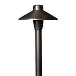LLM3891 Lume Brass China Hat Path Light