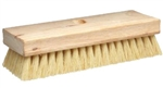"MB179 8-1/4"" White Tampico Acid Brush 1-1/4"" Trim. Tapered Hole"