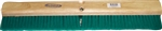 "MB3924SL 24"" Medium Green Flagged Broom Pet Fiber Bristle 3"" Trim"