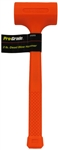 MIT3184 32oz Hi-Vis Dead Blow Hammer Handle Length 10-3/4""