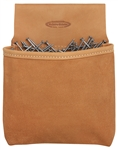 MN444 Leather 1 Pocket Nail Bag