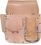 MN481 Leather Box Type Drywall Pouch