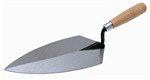 MT96 Marshalltown  10 X 5  Brick Trowel - Philadelphia Pattern w/Wood Handle