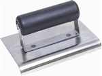 "MTCE512SP Marshalltown 6 X 6 SS Edger-1/4"" Radius, 3/8"" Lip - Plastic Handle"