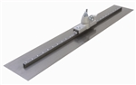 "MTFR48AA Marshalltown 48 X 5"" QLT Square End Carbon Steel Fresno w/ All-Angle Bracket"