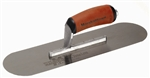 "MTMSP16SD Marshalltown 16 X 4 1/2"" High Carbon Steel Pool Trowel w/Curved DuraSoft® Handle"