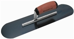 "MTMSP815BD Marshalltown 18 X 5"" Blue Steel Pool Trowel w/Curved DuraSoft® Handle"