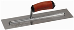 "MTMXS165SD Marshalltown 16 X 5"" Bright Stainless Steel Finishing Trowel with DuraSoft® Handle"