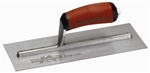 MTMXS55D Marshalltown 10 X 4 Finishing Trowel w/ Curved DuraSoft® Handle
