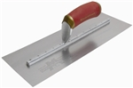 MTPB64D Marshalltown 14 X 4 PermaShape® Carbon Steel Finishing Trowel w/Curved DuraSoft® Handle