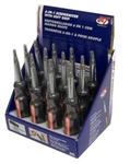 MTSD6SGDP 6 IN 1 SCREWDRIVER COUNTER DISPLAY-12 IN A DISPLAY (PRICED BY EA SCREWDRIVER)