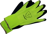 NG1612L Pr Hi-Viz Advanced Foam Nitrle Glove - Large - Sold in Dozens Only