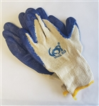 NG1901L Blue Dipped Gloves - Large