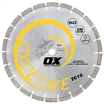 "OXTC10-10   OX 10"" Trade/Gen Purpose Diamond Blade"
