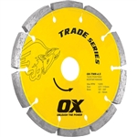 "OXTMR-5""   OX 5"" Trade Tuck Point Diamond Blade"