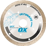 "OXUCT-4.5 OX 4.5"" ULT DIAMOND TILE BLADE"