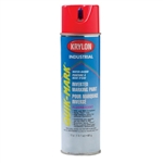 SO3610 Krylon Red Upside Down Spray Paint Water Based Sold 12 Per Box