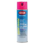 SO3612 Krylon Pink Upside Down Spray Paint Water Based Sold 12 Per Box