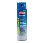 SO3620 Krylon Blue Upside Down Spray Paint Water Based Sold 12 Per Box