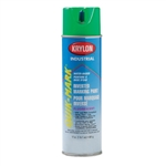 SO3630 Krylon Green Upside Down Spray Paint Water Based Sold 12 Per Box