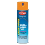 SO3700 Krylon Orange Upside Down Spray Paint Water Based Sold 12 Per Box