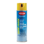 SO3801 Krylon Yellow Upside Down Spray Paint Water Based Sold 12 Per Box