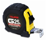 "TAG25BW Tajima 1"" X 25' Tape Measure"