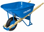 TR33181 TRUPER 6Cf H/D Steel Tray Wheelbarrow