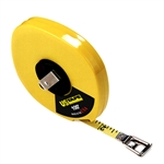"UC58630 US Tape 3/8"" x 100' Steel Tape  Measure with protective acrylic coating. High Impact ABS Case"