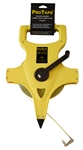 "UC59927 US Tape 1/2"" x 100' Nylon Clad Steel Tape Measure"