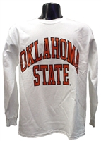 OSU White Full Arch Long-sleeved Tee
