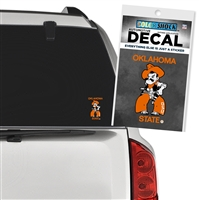 Oklahoma State Pistol Pete Decal