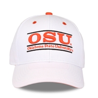 White OSU Bar Hat OUT OF STOCK